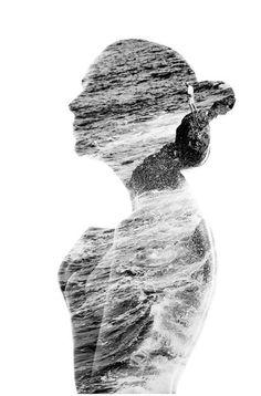Learn How to Create Double Exposure Portraits a la Aneta Ivanova #art #DIY #portraits