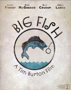 Big Fish (2003) ~ Minimal Movie Poster by Emir Ayouni #amusementphile
