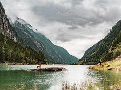 Speicher Stillup, Tyrol, Austria, 2017 #speicher #stillup #tyrol #austria #stilluptal #stillupgrund #tirol #alpen #alpy #osterreich #mayrhofen #lake #mountains #alps