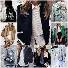 Blog Caca Dorceles. 2016. Inspire-se: Street Style: Bomber Jacket