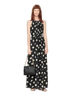 daisy dot maxi dress - Kate Spade New York