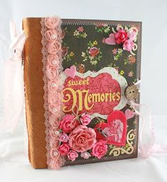 Monkeydreamz: Tales of a Paper Addict: 6x8 Sweet Memories Valentine's Mini
