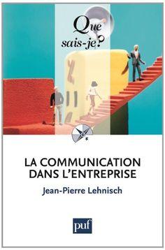 Cet ouvrage expose et explique pourquoi et comment la communication interne et les relations humaines doivent être développées afin de favoriser la réussite économique de l'entreprise. Cote : 4-4154-1 LEH