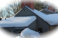 How to Remove Snow Loads to Prevent Roof Collapse - Eaton & Berube Insurance Water Damage, Home Ownership, Outdoor Furniture, Outdoor Decor, Idaho, Sun Lounger, Project Ideas, Frozen, Survival