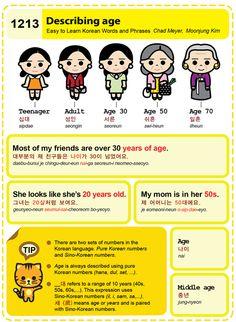 Easy to Learn Korean Language 1211 ~ 1220 Learn Basic Korean, How To Speak Korean, Korean Words Learning, Korean Language Learning, Korean Letters, Learn Korean Alphabet, Korean Numbers, Japanese Language Proficiency Test, Learn Hangul