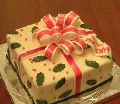 Christmas Holidays Birthday Cake and Cupcake Ideas