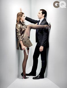 Keri Russell and Matthew Rhys in GQ