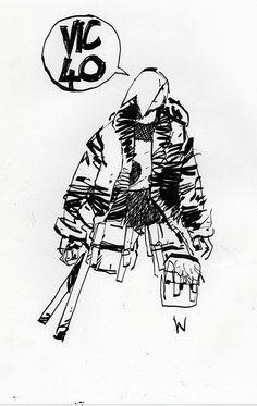 Blog sketch during TKLUB Oroshi 18 sale