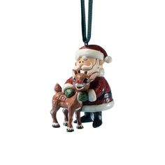 Rudolph Jim Shore Christmas from Enesco Santa Hugging Rudolph Christmas 236 IN *** Want to know more, click on the image.