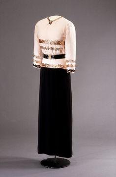 Dress, House of Worth, 1938