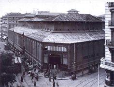 mercado de la cebada hacia 1929.