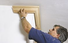 How to put in crown moulding: step-by-step guide to putting up an ornamental ceiling border