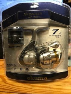 Okuma Avenger A Series Spinning Reels AV15a spare spool new in pack #okuma