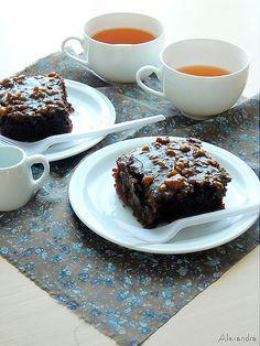 Κέικ σοκολάτας με γλάσο όνειρο. Ένα κέικ σοκολάτας από τα λίγα!!!