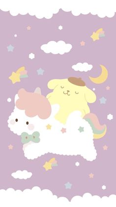 Sanrio Characters, Cute Characters, Sanrio Wallpaper, Cute Wallpapers, Wallpaper Backgrounds, Cute Pictures, Pudding, Hello Kitty, Snoopy