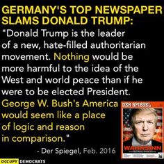 Funny Quotes About Donald Trump by Comedians and Celebrities: German Newspaper Slams Donald Trump