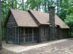 The fourth of the original state parks developed by the Civilian Conservation Corps, Legion State