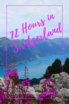 3 Days in Switzerland: Interlaken, Bern, Unterseen, Lucerne, Schyinge Platte Travel Tips For Europe, Travel Around Europe, Travel Advice, Travel Around The World, Travel Guides, Travel Plan, European Destination, European Travel, Bern