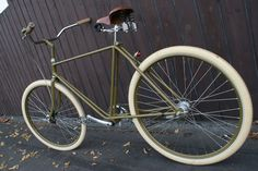 Restored Harley Davidson Bike from the 1920ies.