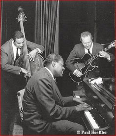 Hazel Home Art and Antiques Wausau, Wisconsin: The Oscar Peterson Trio featuring Ray Brown on bass and Herb Ellis on guitar.