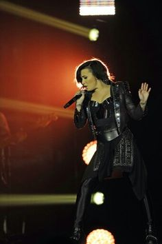 Demi Lovato at the Phones4U Arena in Manchester, England - November 29th #SexAndLoveTour.