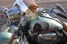 custom paint jobs on motorcycles -Indian Custom Paint Motorcycle, Custom Bikes, Custom Airbrushing, Custom Paint Jobs, Newcastle, Motorcycles, Indian, Painting, Painting Art