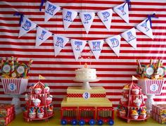 .Oh Sugar Events: Big Top Birthday