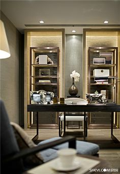 [New] The 10 Best Home Decor Today (with Pictures) - Best modern home office design ideas Classic Interior, Home Interior, Interior Architecture, Interior Decorating, Luxury Interior, Home Office Design, Home Office Decor, House Design, Home Decor