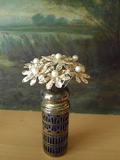 This is a great tutorial on how to make flowers out of recycled book pages.