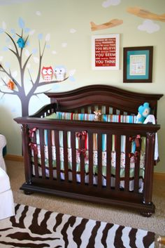 Project Nursery - Baby Cache Heritage Collection in Espresso