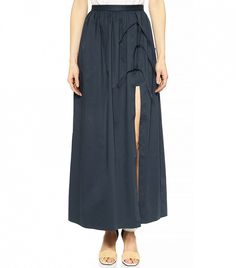 Another bargain found on WhoWhatWear: Tibi Long Skirt With Shorts ($445)