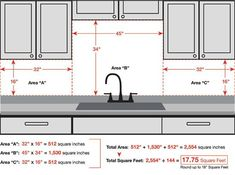 How to calculate the sq. footage needed for a metal backsplash area; a cost-effective, easy-to-maintain solution to beautify your kitchen, bathroom & fireplace Stainless Backsplash, Beadboard Backsplash, Herringbone Backsplash, Kitchen Backsplash, Backsplash Ideas, Backsplash Wallpaper, Rustic Backsplash, Hexagon Backsplash, Travertine Backsplash