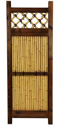 Japanese 4' x 2' Zen Garden Fence