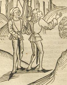 Sammelband in 3 Teilen: Konvolut aus Inkunabeln nach 1450, Deutschland Inc. fol. 133 (Ausst. 172)  Folio 21r