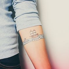 AHOY - temporary tattoo
