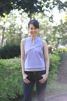 M082Your corner Vest by giftbywish on Etsy