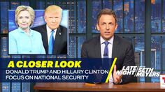 A Closer Look: Donald Trump and Hillary Clinton Focus on National Security