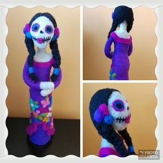 Catrina #felting #fieltro #handmade #catrina #doll