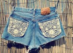 Denim Shorts-I like the pockets