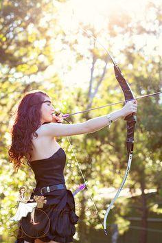 Archery senior pictures