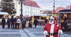 Christmas market in Sibiu, Romania Sibiu Romania, Street View, Christmas, Fashion, Xmas, Moda, Fashion Styles, Weihnachten, Fasion