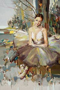Ballerina Painting - Ballerina 32 by Mahnoor Shah