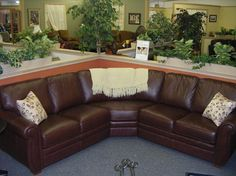Cowhide Leather Sectional Sofas | Home And Family Resource Center