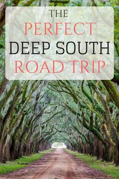 Everything you need to know for the perfect Deep South road trip, including an i. - Everything you need to know for the perfect Deep South road trip, including an itinerary, hints on - Road Trip Usa, Road Trip Packing, Road Trip Essentials, Road Trip Hacks, East Coast Road Trip, Route 66 Road Trip, Road Trip Planner, Travel Packing, Road Trip With Kids