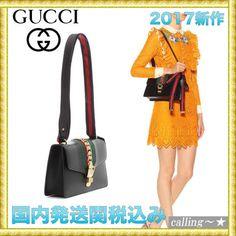 セレブ愛用者多数☆GUCCI☆Sylvie leather shoulder bag