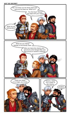 Read more of their comic strips like this here: http://championsandheroes.smackjeeves.com/comics/1636055/not-so-secret/