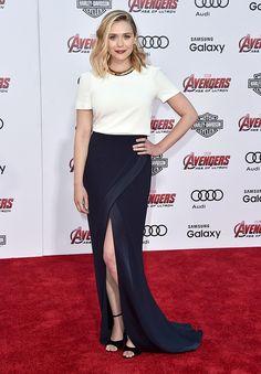 "Elisabeth Olsen - ""Avengers. Age of Ultron"" Los Angeles Premiere"