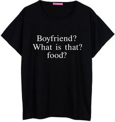 Boyfriend What Food Oversized T Shirt Boyfriend Womens Ladies Girl Tee Top Hipster Tumblr Grunge Swa