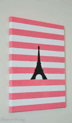 DIY Paris Themed Art                                                       …