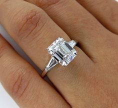 Timeless...3ctw Estate Vintage Emerald Cut by TreasurlybyDima